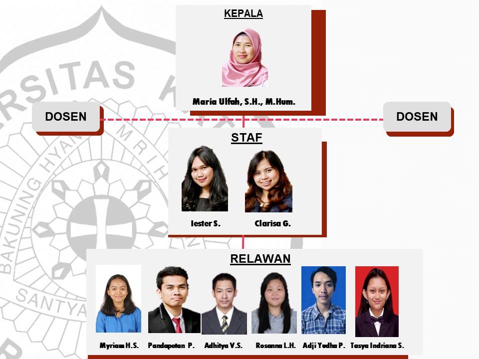 struktur organisasi januari 2018