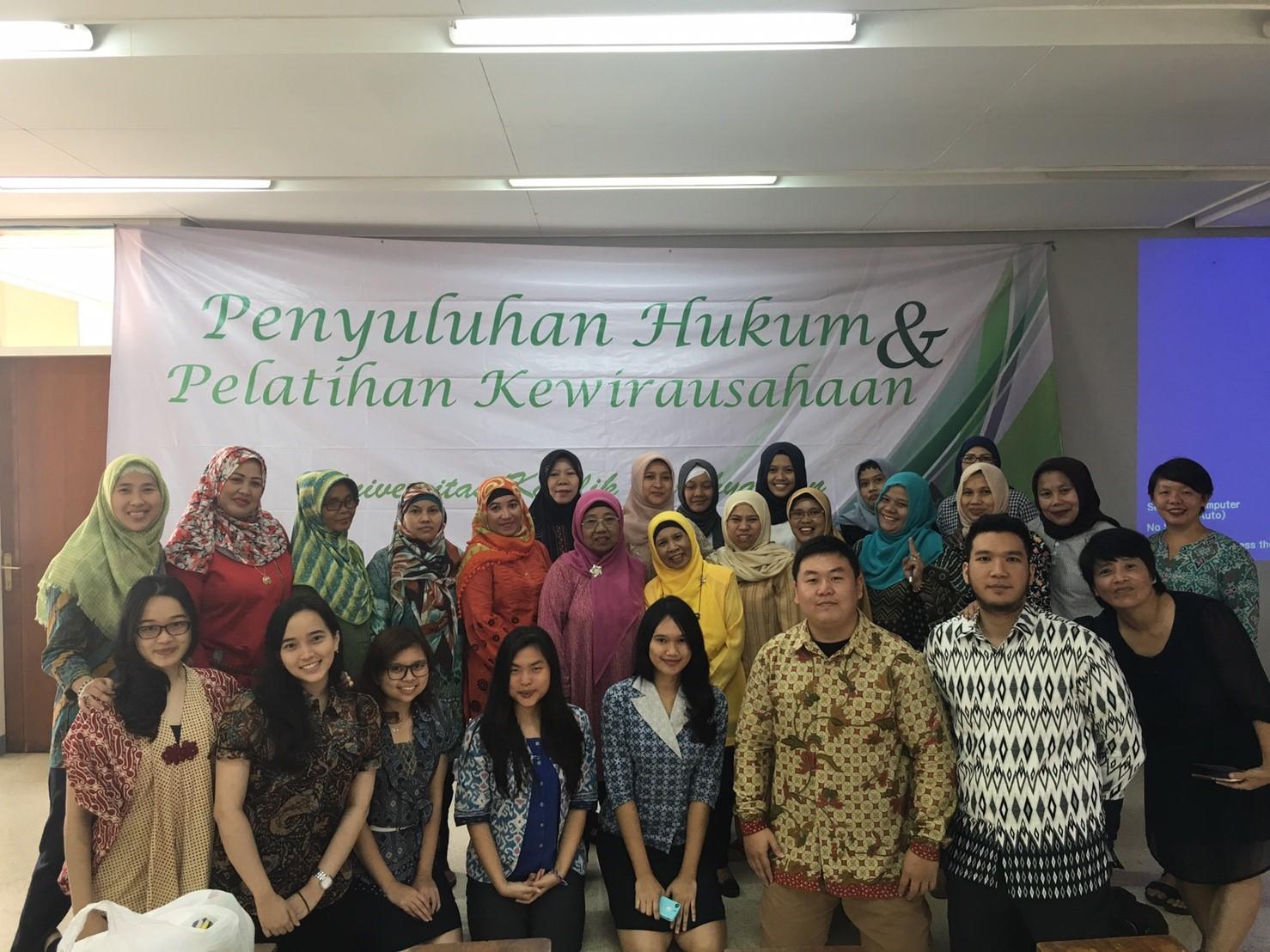 """LBH """"Pengayoman"""" UNPAR bekerjasama dengan Cikapundung Development Program dalam Kegiatan Penyuluhan Hukum dan Pelatihan Kewirausahaan"""