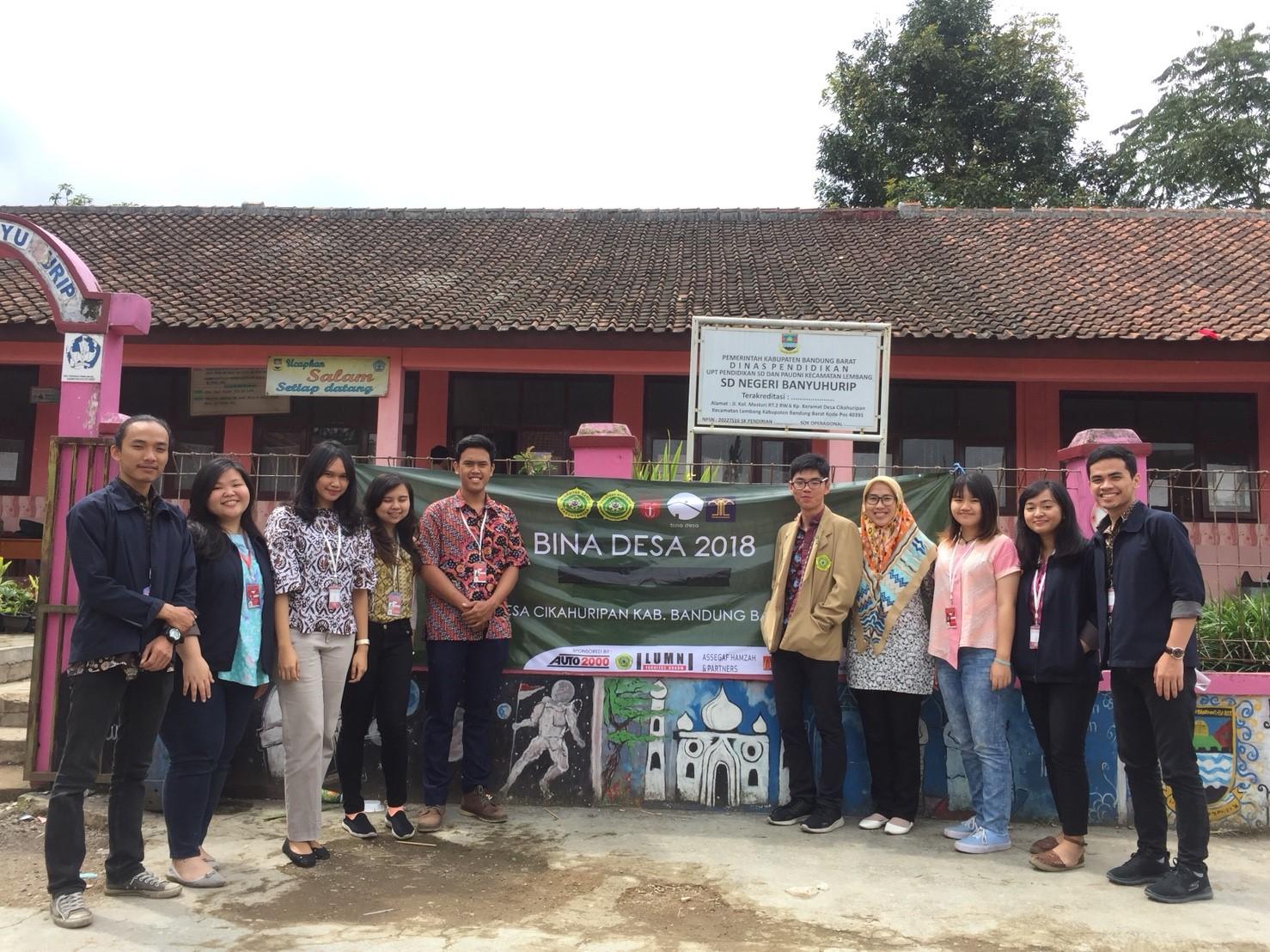 Klinik Hukum dalam Kegiatan Bina Desa 2018