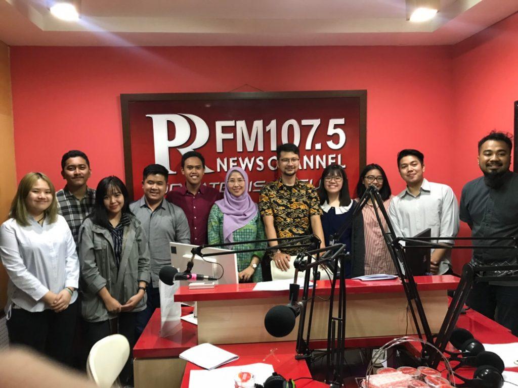 """Notulensi Siaran Radio, Jumat, 16 Agustus 2019 (PR FM) """"Konsep Bantuan Hukum di Indonesia"""""""