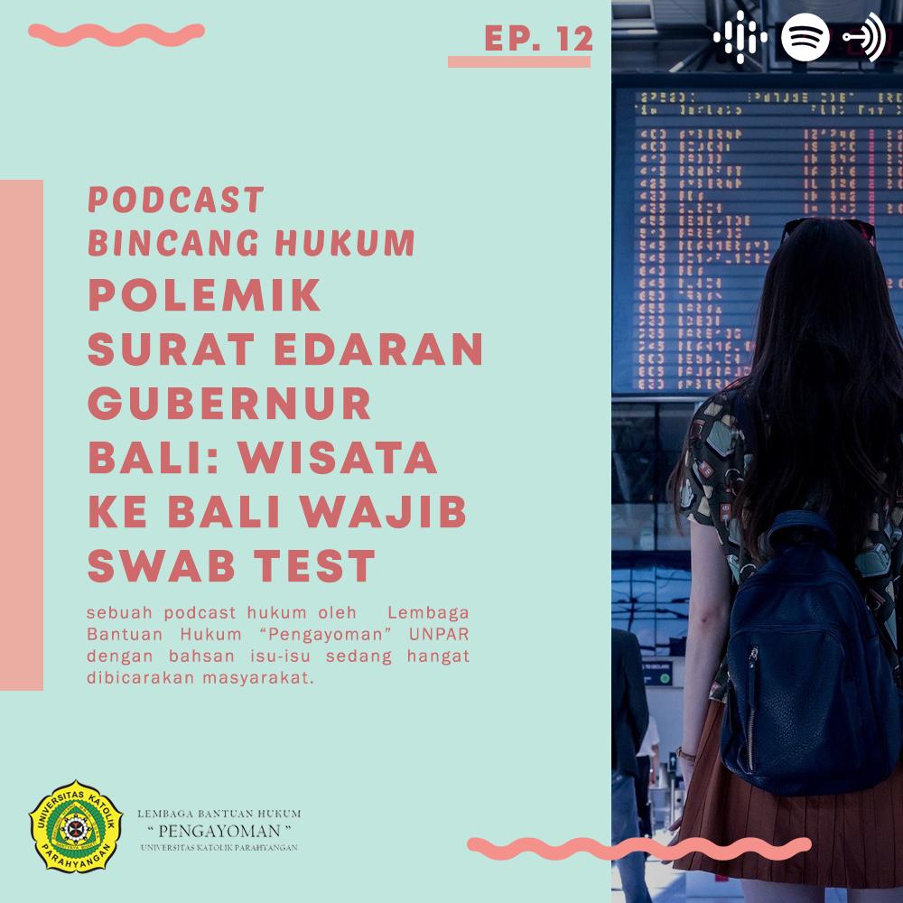 Polemik Surat Edaran Gubernur Bali: Wisata Ke Bali Wajib Swab Test