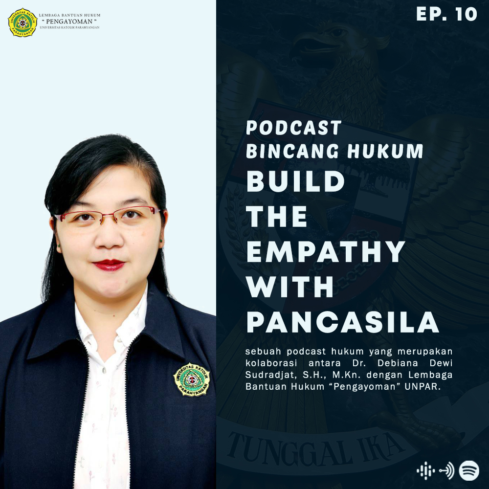 BUILDING THE EMPATHY WITH PANCASILA