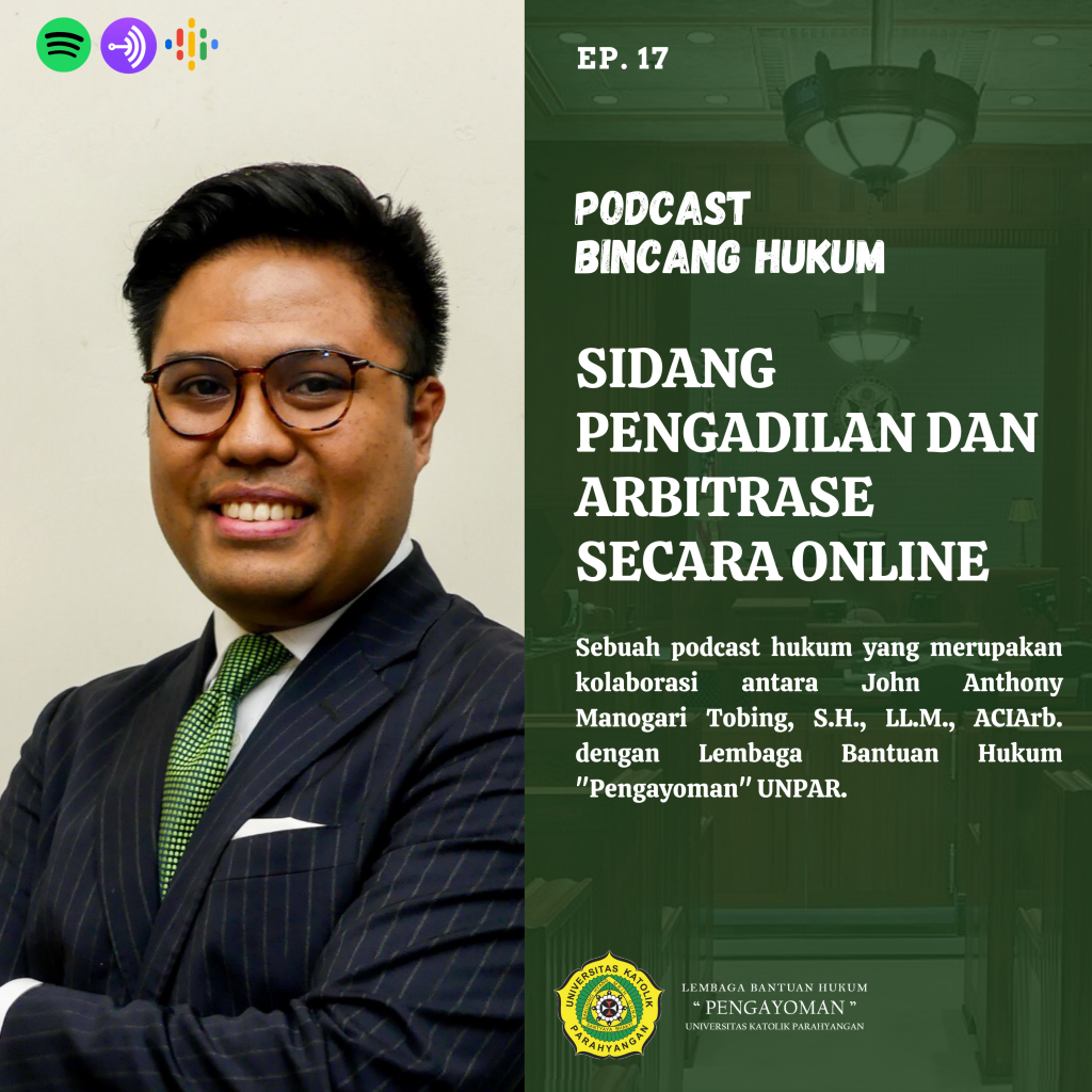 Sidang Pengadilan dan Arbitrase Secara Online